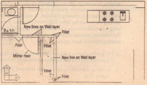 FIGURE 12.15: Cleaning up the wall